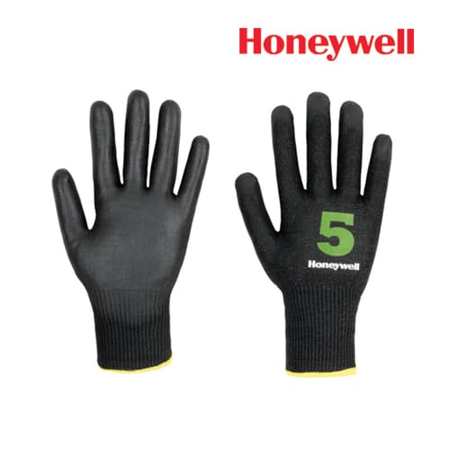 Honeywell Cut Resistance Gloves -Vertigo Check & Go Black PU 5, Model: 2342545