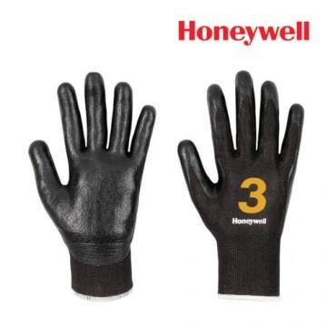 Honeywell Cut Resistance Gloves -Vertigo Check & Go Black Nit 3, Model: 2342552