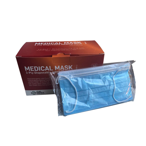 Medical Grade 3-Ply Disposable Mask (10pcs/pack) BUY 4 GET 1 FREE