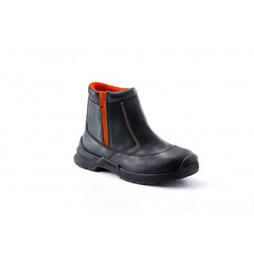 King's Water Resistant Leather Side-Zip Boot, Model: KWD206-Replace KWD806