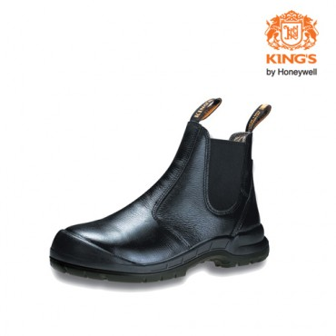 King's Elastic Sided Pull-Up Safety Boots, Model: KWD706
