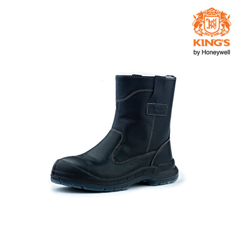 King's Pull-Up Safety Boots, Model: KWD805