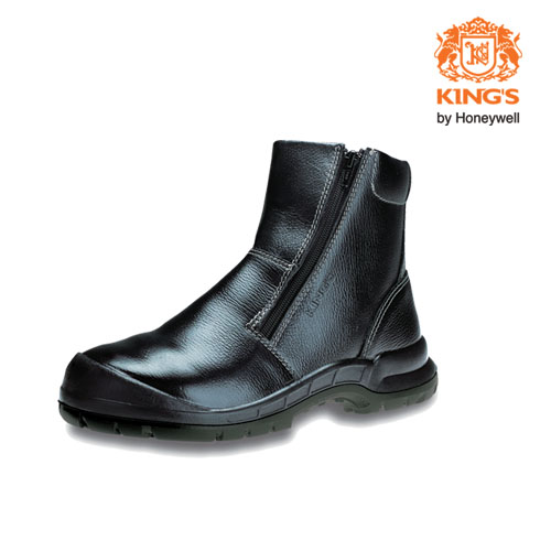 King's Zip-Up Safety Boots, Model: KWD806