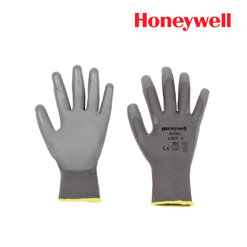 Honeywell General Handling Gloves-PU First Grey, Model: 2100250