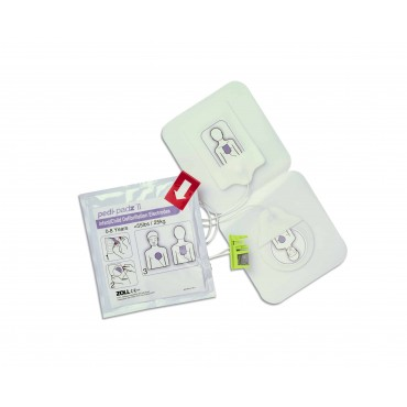 ZOLL  AED PLUS Pedi-padz® II Pediatric Multi-Function Electrodes
