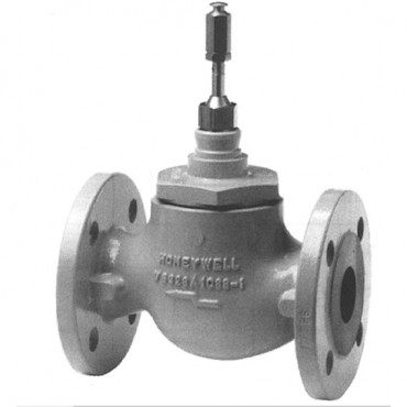 """Honeywell Flanged Linear Valve PN16 High Close-off Pressure Rating, 2 Way, 2 1/2"""" (DN65)"""
