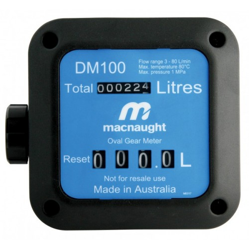 DM100-01 in-line Economical Oil Meter