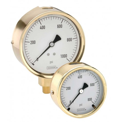 300 Brass Liquid Filled Gauge