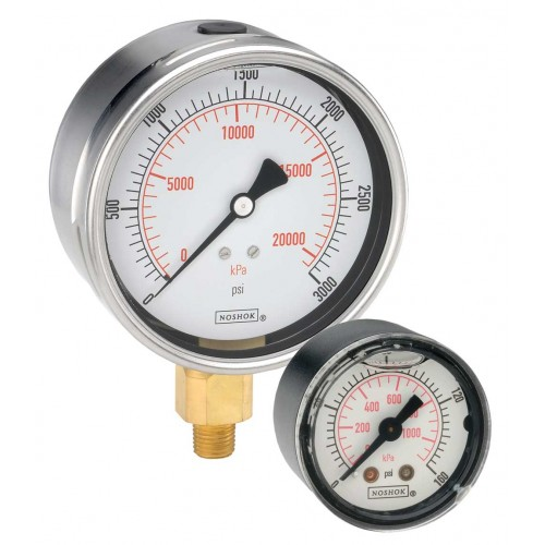 900 ABS/SS Liquid Filled Gauge
