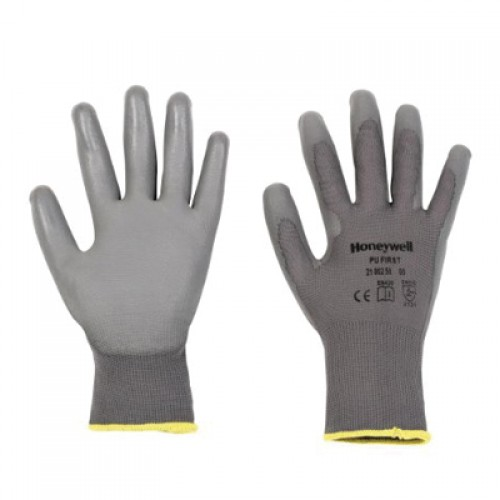 General Handling Gloves-PU First Grey