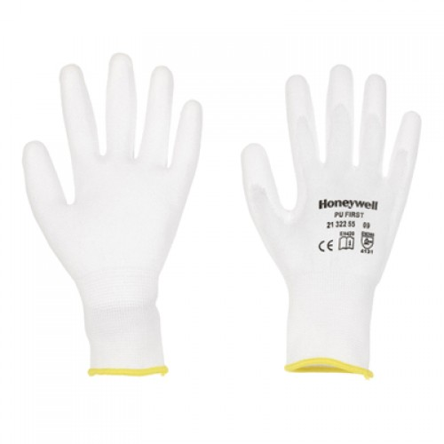 General Handling Gloves-PU First White