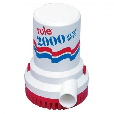 2000 Submersible pump 24 volt DC