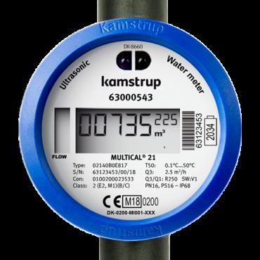 MULTICAL® 21/ flowIQ® 2101 Ultrasonic Water Meter for Residential Use