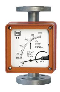 Full metal variable area flow meter-BGN with Datasheet