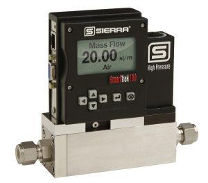 Sierra-SmartTrak 100HP mass flow meters & controllers with Datasheet