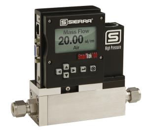 Sierra-SmartTrak 100HP mass flow meters & controllers with Datasheet