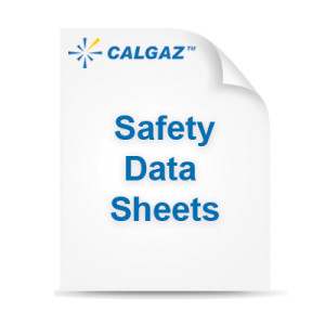 calgaz safety data sheets
