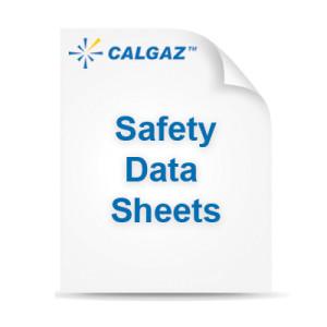 calgaz safety data sheets