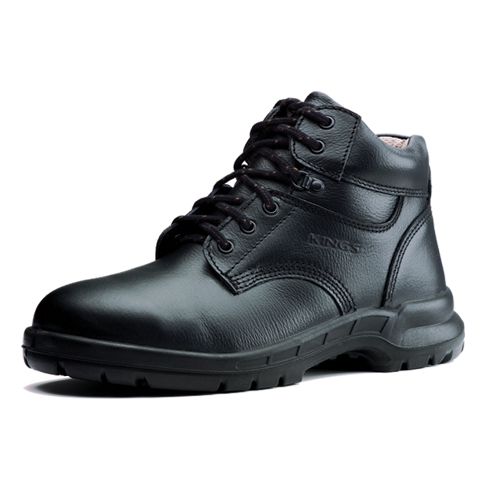 King's Men Wear Mid Cut Safety Shoes by Honeywell