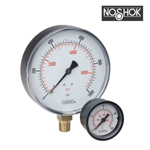 100 Series Pressure Gauge (0-600PSI-1/4