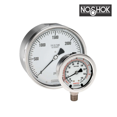 400 Series All Stainless Steel Pressure Gauge (1/2
