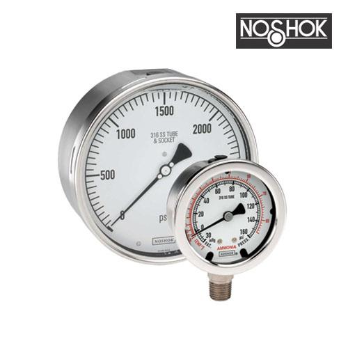 400 Series All Stainless Steel Pressure Gauge (1/2