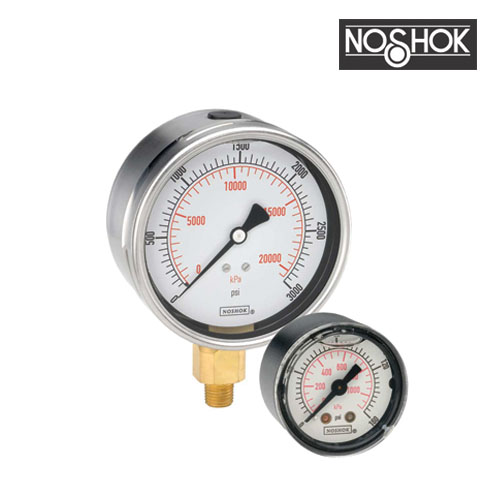 900 Series Stainless Steel Liquid Filled Pressure Gauge (0-10,000PSI-4