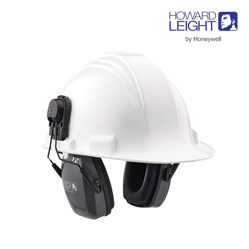 Honeywell Leightning Helmet Earmuffs + Adapter