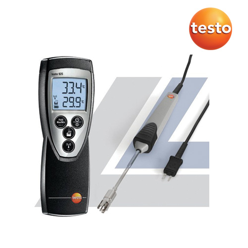 Testo 925 One Channel with Waterproof Immersion/Penetration Probe