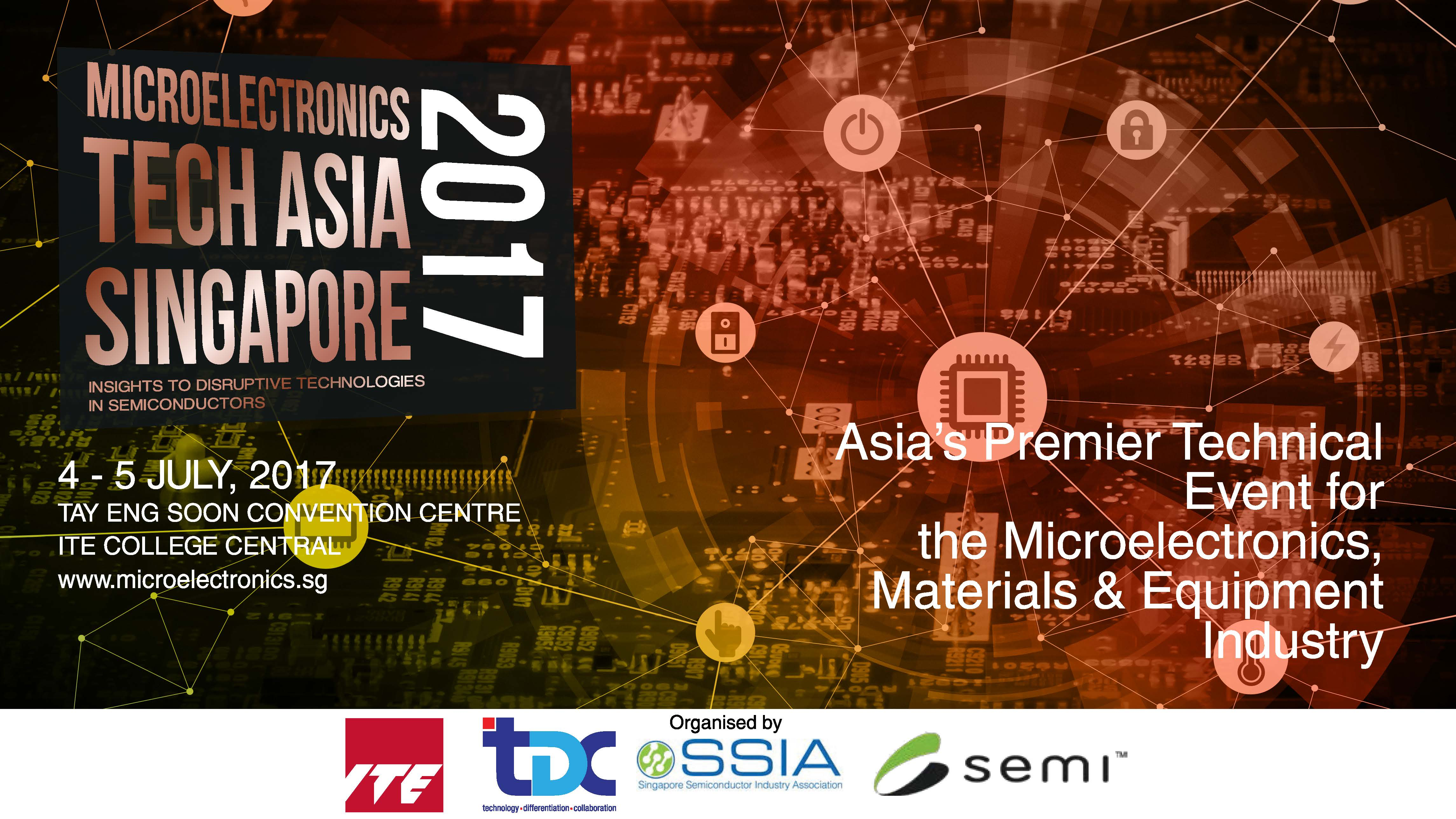 Visit Us at MICROELECTRONICS TECH ASIA SINGAPORE 2017 Conference