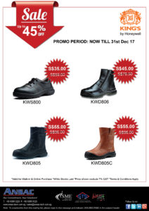 Up to 45% Off on King's Safety Shoes
