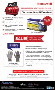 Honeywell Safety Gloves New Year Promotion!
