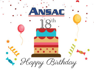 ANSAC Turns 18 This Year!