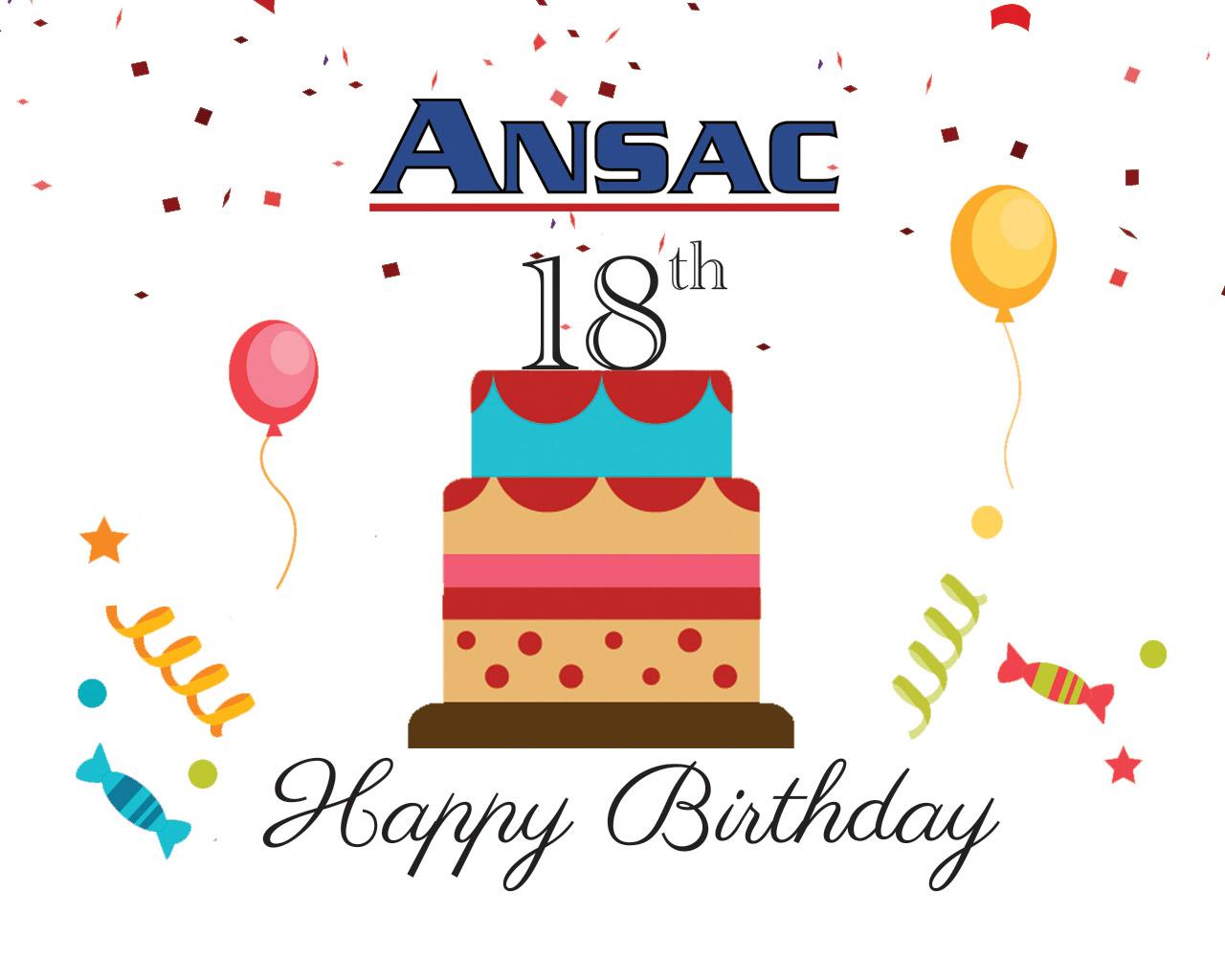 ANSAC Turns 18 This Year!