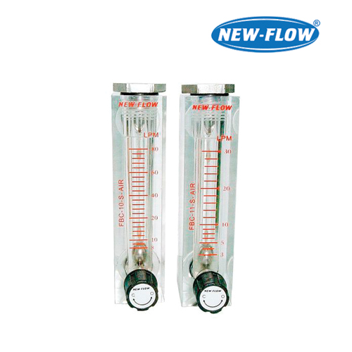 Acrylic Plastic Flow Meter w/o Needle Valve (Air)  (Flow Range 100~1000)