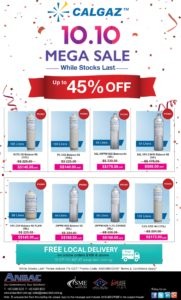 [Calgaz 10.10 MEGA SALE]-Up to 45% Off all Calibration Gas Cylinders & Free Shipping*