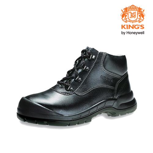 Kings Mid Cut Safety Shoes by Honeywell-Model KWD901  (Size (UK) 6)