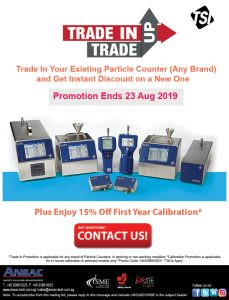 TSI Particle Counter Trade In Trade Up + 15% off First Year Calibration
