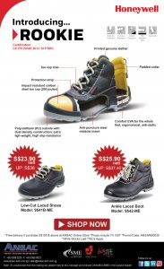 Honeywell New Safety Shoes: Introducing ROOKIE @ Special Price! While Stocks Last!
